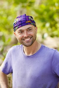 David Wright on SURVIVOR: Millennials vs. Gen. X, when the Emmy Award-winning series returns for its 33rd season with a special 90-minute premiere, Wednesday, Sept. 21 (8:00-9:30 PM, ET/PT) on the CBS Television Network. Photo: Robert Voets/CBS Entertainment ©2016 CBS Broadcasting, Inc. All Rights Reserved.