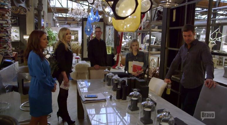 Jeff-Lewis-Vanina-Alfaro-Jenni-Pulos-Shannon-Beador-Furniture-Store-Flipping-Out