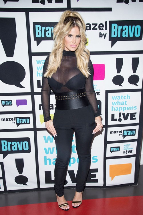 Kim Zolciak on WWHL