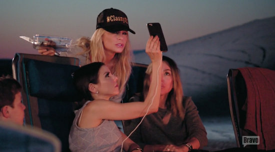 The ladies FaceTime Vicki from Glamis