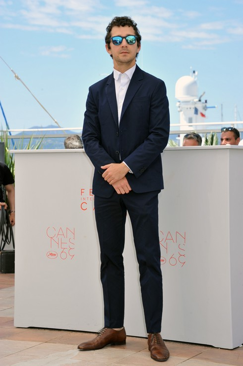 69th Cannes Film Festival - 'American Honey' - Photocall Featuring: Shia Labeouf Where: Cannes, France When: 15 May 2016 Credit: IPA/WENN.com **Only available for publication in UK, USA, Germany, Austria, Switzerland**