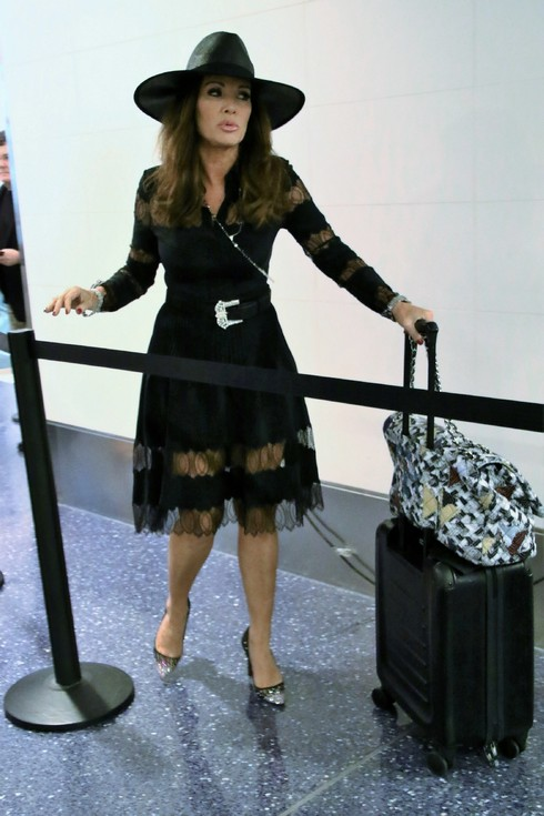 Lisa Vanderpump departs from Los Angeles International Airport (LAX) Featuring: Lisa Vanderpump Where: Los Angeles, California, United States When: 09 Sep 2016 Credit: WENN.com