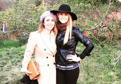 Kelly Dodd and Meghan Edmonds in Ireland