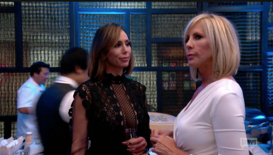 Vicki & Kelly on RHOC