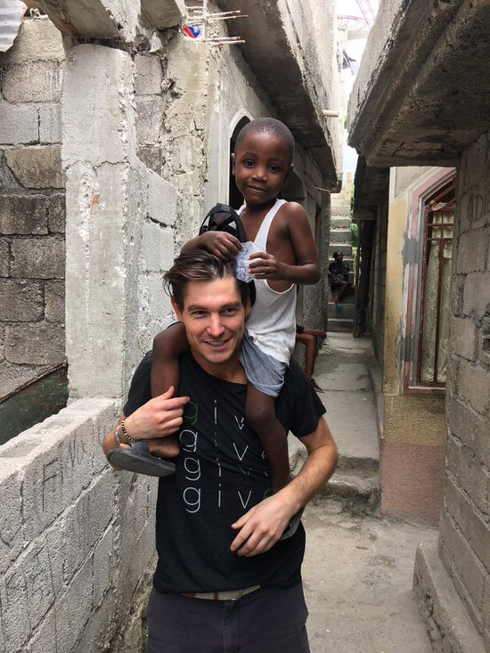Craig Conover Volunteers in Haiti
