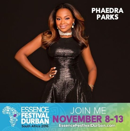 Phaedra Parks goes to South Africa