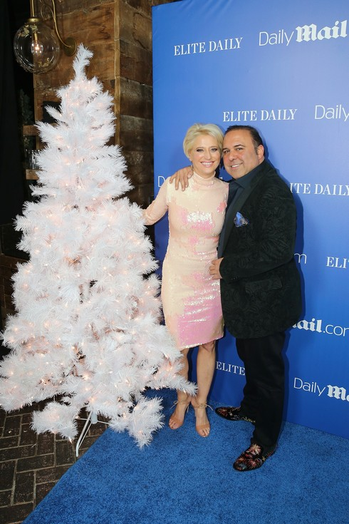 NEW YORK, NY - DECEMBER 07: Dorinda Medley and John Mahdessian attend the DailyMail.com & Elite Daily Holiday Party with Jason Derulo at Vandal on December 7, 2016 in New York City. (Photo by Rob Kim/Getty Images for Daily Mail)