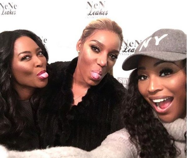 Kenya-Moore-Cynthia-Bailey-NeNe-Leakes-Surprise-Party