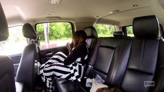 Phaedra's office gets a bomb threat