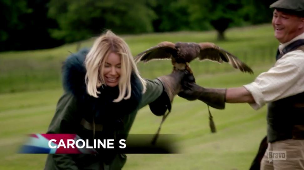 Caroline-Stanbury-Scared-Hawk-Scotland-Castle-Ladies-Of-London