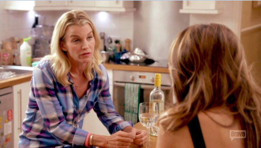 Julie-Montagu-Plaid-Shirt-Sophie-Stanbury-Back-Kitchen-Ladies-Of-London