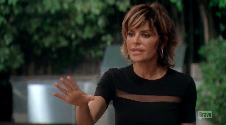 Lisa Rinna apologizes to Kim