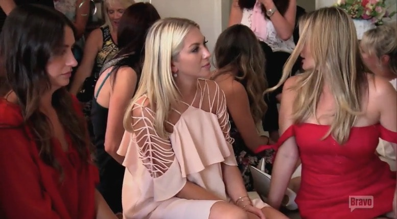 Stassi at Katie's bridal shower