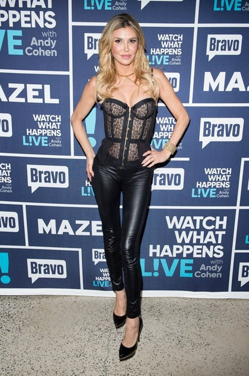 WATCH WHAT HAPPENS LIVE WITH ANDY COHEN -- Episode 14011 -- Pictured: Brandi Glanville -- (Photo by: Charles Sykes/Bravo)