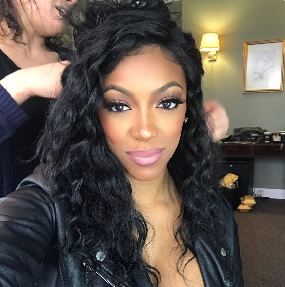 Porsha-Williams-Movie-Set