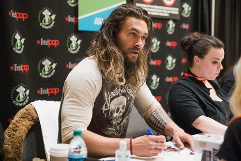SEATTLE, WA - MARCH 04:  Actor Jason Momoa attends Emerald City Comic Con at Washington State Convention Center on March 4, 2017 in Seattle, Washington.  (Photo by Mat Hayward/Getty Images)