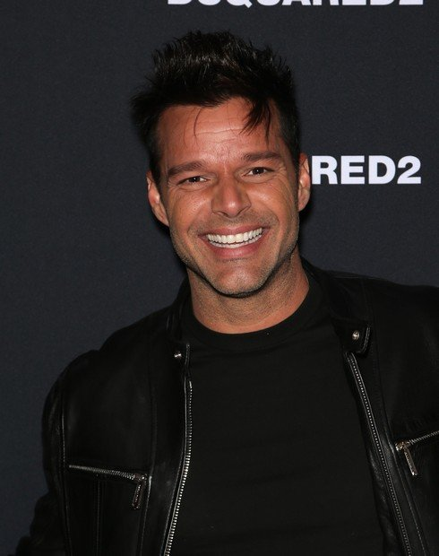 LAS VEGAS, NV - APRIL 06:  Recording artist Ricky Martin attends the grand opening party for Dsquared2 at The Shops at Crystals on April 6, 2017 in Las Vegas, Nevada.  (Photo by Gabe Ginsberg/FilmMagic)