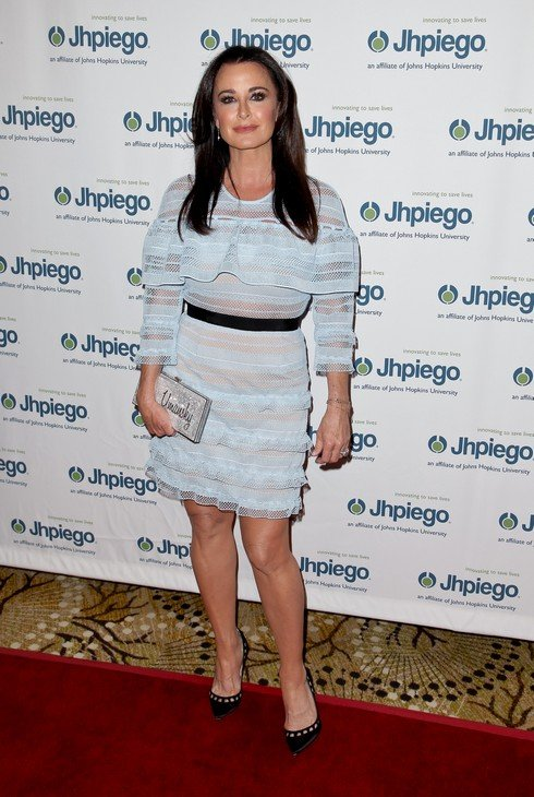 BEVERLY HILLS, CA - MAY 01: Kyle Richards attends Jhpiego's 'Laughter Is The Best Medicine' Gala at the Beverly Wilshire Four Seasons Hotel on May 1, 2017 in Beverly Hills, California. (Photo by Tibrina Hobson/Getty Images)