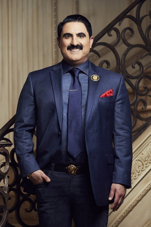 SHAHS OF SUNSET -- Season:6 -- Pictured: Reza Farahan -- (Photo by: Tommy Garcia/Bravo)