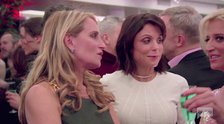 Sonja.Morgan.Bethenny.Frankel.Beige.White.Party.RHONY