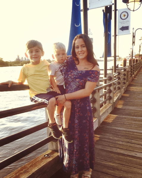 Jenelle Evans With Sons