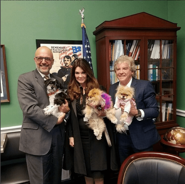 Lisa Vanderpump On Capital Hill