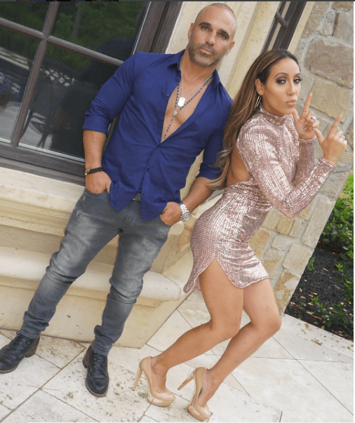 Melissa & Joe Gorga Attend #RHONJ Disco Party