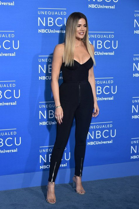 NBCUNIVERSAL UPFRONT EVENTS -- 2017 NBCUniversal Upfront in New York City on Monday, May 15, 2017 -- Red Carpet -- Pictured: Khloe Kardashian,