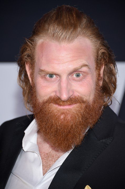 NEW YORK, NY - APRIL 08: Actor Kristofer Hivju attends