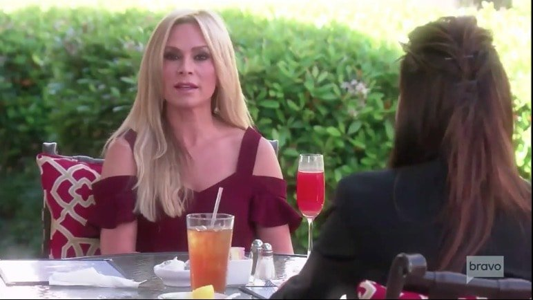 Tamra Judge works things out with Peggy Sulahian
