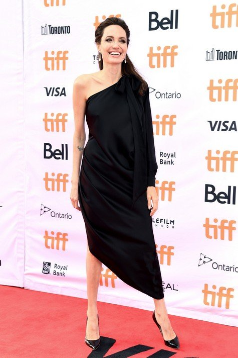 TORONTO, ON - SEPTEMBER 11: Angelina Jolie attends the World Premiere of Netflix's Film's