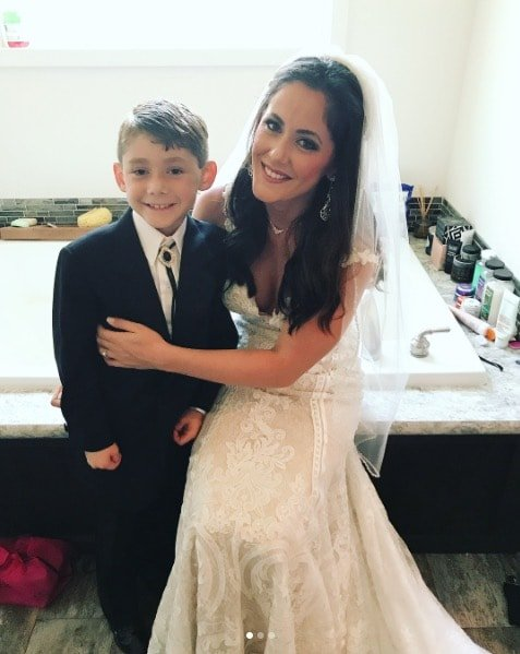 Jenelle Evans Wedding - With Jace