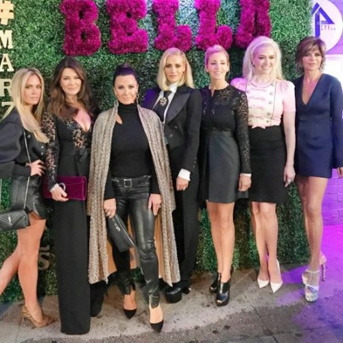 Real Housewives Of Beverly Hills Invade NYC For Fashion Week – Photos