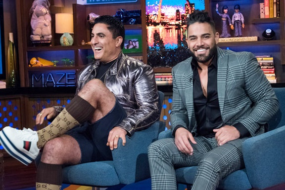 Reza Farahan and Mike Shouhed