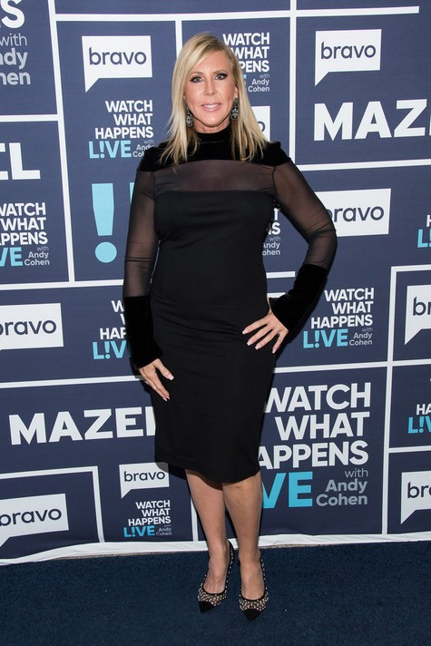 WATCH WHAT HAPPENS LIVE WITH ANDY COHEN -- Episode 14167 -- Pictured: Vicki Gunvalson -- (Photo by: Charles Sykes/Bravo)
