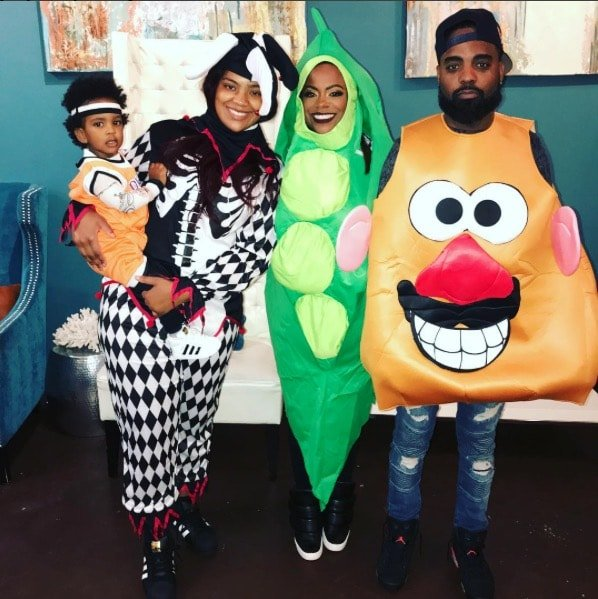Kandi Burruss & Todd Tucker Halloween 2017