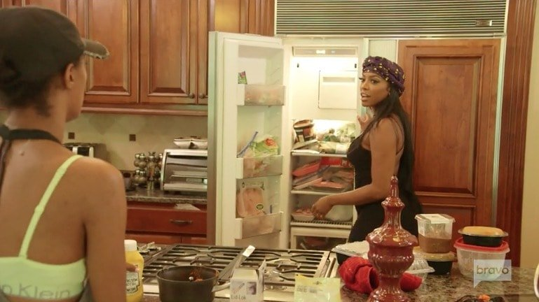 Porsha Williams goes baby vegan