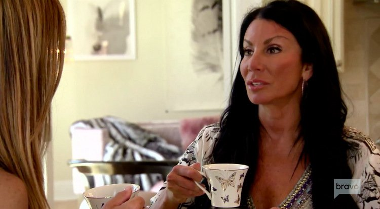 Danielle Staub Is Still Living With Ex Marty Caffrey; Says He Enjoys Having Drama In His Life
