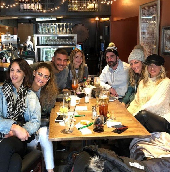 Stassi Schroeder Explains Why She Went To The Memorial For Ex Boyfriend Jax Taylor's Dad