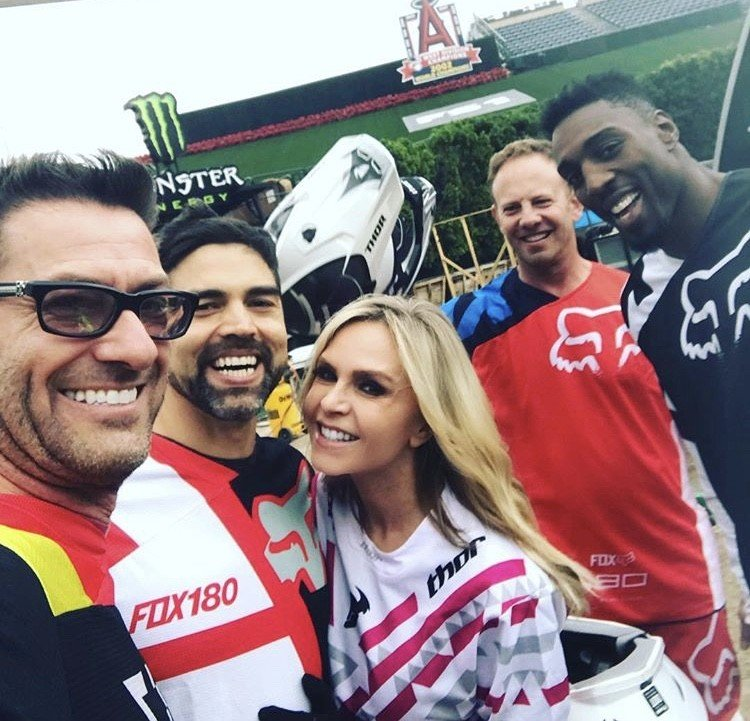 Eddie & Tamra Judge At Supercross Live Event- Photos