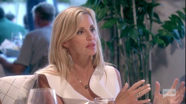 Camille Grammer Shares Update On Living In A Trailer Following The Loss Of Her Home In The Malibu Fire