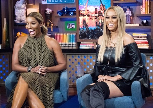 NeNe Leakes and Tyra Banks on Watch What Happens Live