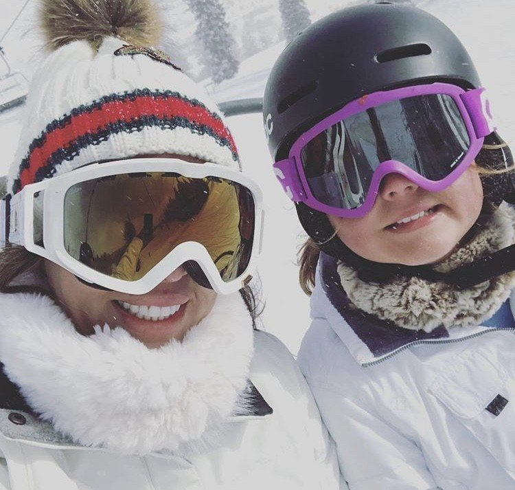 Kelly Dodd Vacations In Aspen With Her Daughter Jolie- Photos