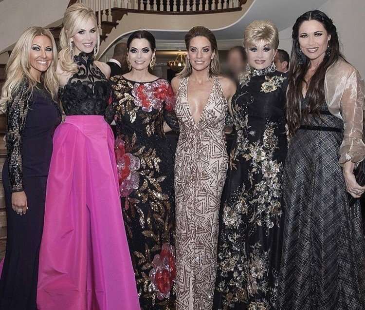 Real Housewives Of Dallas Cast Celebrate D'Andra Simmons' 4 Year Wedding Anniversary- Photos