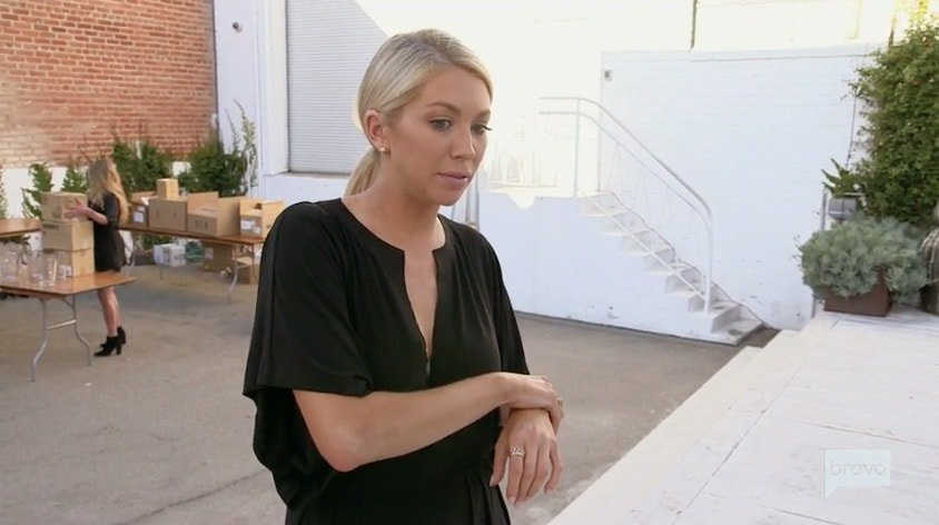 Stassi's party is a fiasco