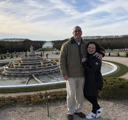 Al & Caroline Manzo Vacation In Paris & London – Photos