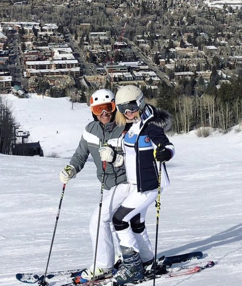 Ramona Singer Enjoys Ski Trip In Aspen – Photos