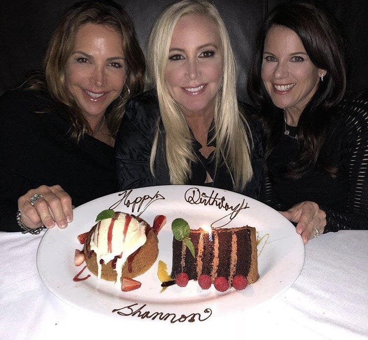 Shannon Beador Celebrates Her 54th Birthday At The Quiet Woman