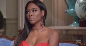 "Kenya Moore Says Her Baby ""Doesn't Get Out Of Bed For Less Than $1 Million"""