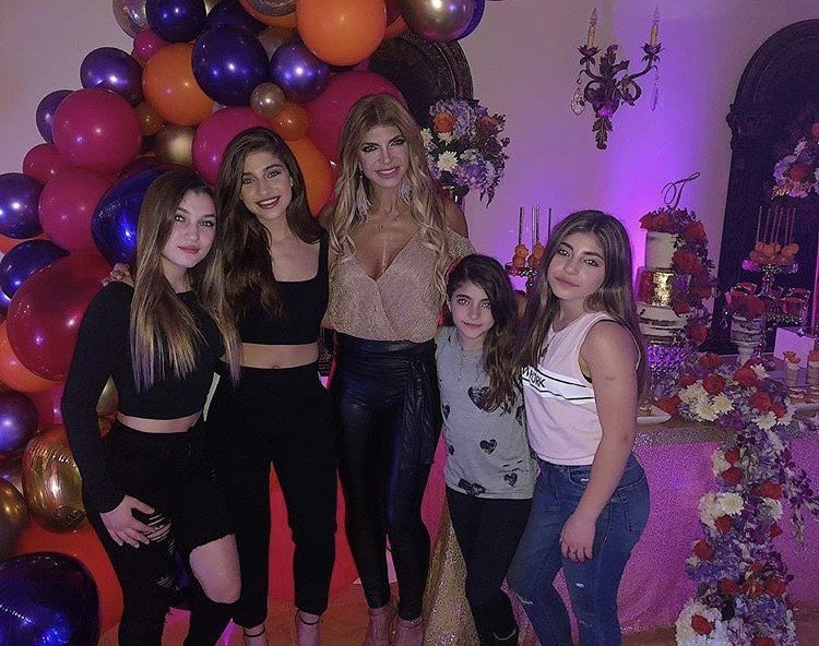 Teresa Giudice Celebrates Birthday At Surprise Party With Family & Friends- Photos